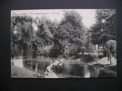 Paris-Parc Montsouris-Le Lac 1910