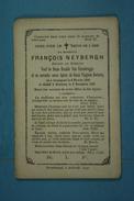 François Neybergh Vf Van Crombrugge Et Declercq Grammont 1806 Everbecq 1895 - Images Religieuses