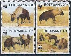 MDW-BK1-028 MDA MINT PF/MNH ¤ BOTSWANA 1995 4w In Serie ¤ WWF - WILD - ENDANGERED ANIMALS