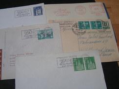 CH   5 Briefe - Briefmarken