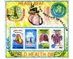 Ref. 368375 * MNH * - NIGERIA. 1992. WORLD DAY OF HEALTH . DIA MUNDIAL DE LA SALUD