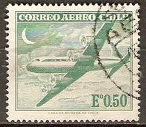 CHILI   -   Aéro   -  1962.  Y&T N° 209 Oblitéré.   Avion - Chile