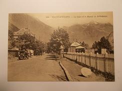 Carte Postale -  BOURG D OISANS (38) - La Gare Et Le Massif De Belledonne (283A)