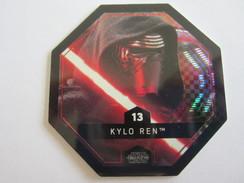 JETON STAR WARS COLLECTION LECLERC 2016 N 13 KYLO REN  * - Gift Cards