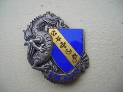 Indochine  Insigne E.M.F.T.S.V. - Armée De Terre