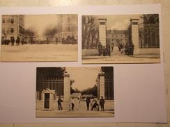 Carte Postale -  GRENOBLE (38) - Lot De 3 CPA Casernes Cf Description (284A)
