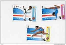 Cap Vert-Cabo Verde-2000-Judo, Course, JO Sydney-747/9-EN BLOC DE 4