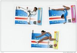 Cap Vert-Cabo Verde-2000-Judo, Course, JO Sydney-747/9***MNH