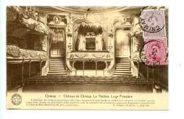 Chimay - Château De Chimay - Le Théâtre, Loge Princière. / E. Desaix - La Belgique Historique (1922) - Chimay