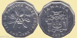 JAMAICA Jamajka Jamaika 1996 1 Cent FAO UNC - Jamaique