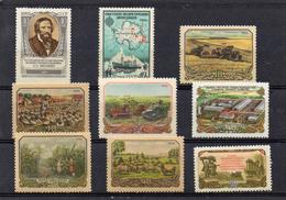 Russie 1956 - YT 1851 Et 1854/61 ** Ou *