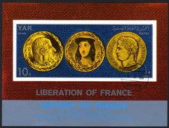 Nord JEMEN 1969 - History Of France / Napoleon, De Gaull, Jeanne D´Art - Block 116