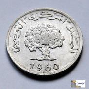 Túnez - 1 Millim - 1960 - Túnez