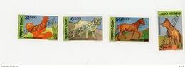 Cap Vert-Cabo Verde-1992-SPECIMEN-2789Chat, Cheval,coq,chien-619/22***MNH