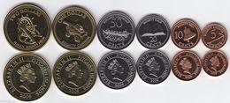 PITCAIRN ISLANDS 2009 Set Of 6 Coins UNC - Pitcairn