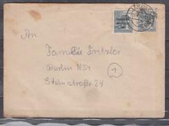 SBZFernbrief LeipzigC 3.7.48 Mit Mischfrankatur 186 + Bezirkshand-o 170V (55.-)
