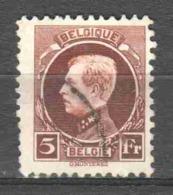 Belgium 1924 Mi 186 Canceled