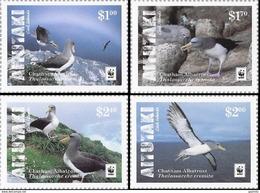 Aitutaki 2016, WWF, Water Birds, 4val