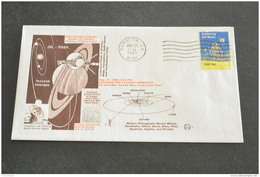 Ru120- FDC - USA- 1981- Voyager Two Closest Approach Saturn - NASA-JPL - FDC & Commémoratifs