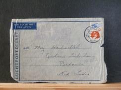 66/657 VOORKANT LP-BRIEF NED.  NAAR NED. INDIE 1937 MET VLAGST.