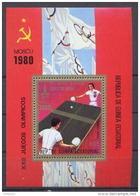 Guinée équatoriale Guinea 011 Tennis De Table B285 (michel) Cote 75 Euros Jeux Olympiques Olympic Games MNH **