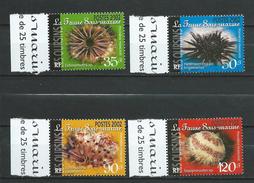 French Polynesia / Polynésie Française 2002 Sea Urchins.MNH - French Polynesia