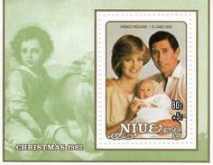 NIUE  MNH  CHRISTMAS  1982