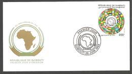 FDC  DJIBOUTI 30 ANNIVERSAIRE DE L  OUA