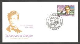 FDC  DJIBOUTI ARTHUR RIMBAULD