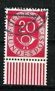 Bund 1951: Posthorn, Mi.-Nr. 130,  UR Gest.