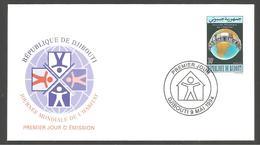 FDC  DJIBOUTI   JOURNEE MONDIALE DE L HABITAT