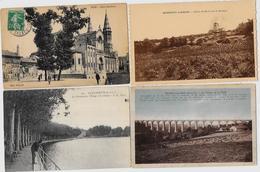 Lot N° 50 De 100 CPA CPSM Saone Et Loire Déstockage Pour Revendeurs Ou Collectionneurs PORT GRATUIT FRANCE - Postales