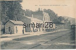 VILLEFRANCHE DE ROUERGUE - N° 4641 - LA GARE