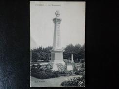 CPA  COURSON       LE MONUMENT AUX MORTS