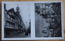 14 : Caen - La Rue Saint Jean Coeur De La Ville Est Entièrement Anéantie - Guerre / Militaria / Ruines  -(n°7555)