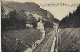LUS-LA-CROIX-HAUTE (26) - La Gare Du Col De La Croix-Haute - Ed. H. Rougier