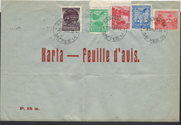 Lettre De Yougoslavie ( Poste Aérienne ) - 1931-1941 Königreich Jugoslawien