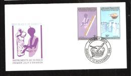FDC  DJIBOUTI  INSTRUMENT DE MUSIQUE  1993