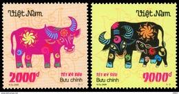 Vietnam 2318/19 Zodiaque , Année Du Boeuf - Astrologia