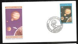 FDC  DJIBOUTI  CONQUETE DE L ESPACE   1993
