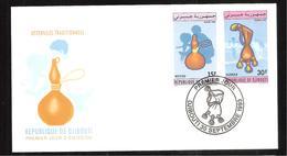 FDC  DJIBOUTI  USTENSILES TRADITIONNELS   1993