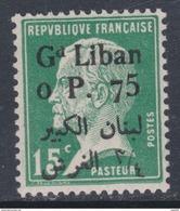 Grand Liban  N° 40 XX  Partie De Série Type Pasteur  : 0 Pi 50 Sur 15 C. Vert, Sans Charnière, TB - Unused Stamps