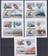 Guinée Bissau 2009 Minerals Minéraux Blocs Luxe Carton