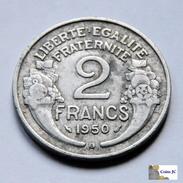 Francia - 2 Francs - 1950 - Francia