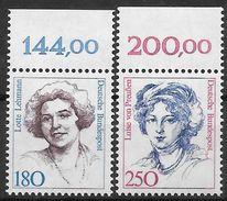 Bund 1989 / MiNr.   1427 – 1428  Oberränder  ** / MNH   (e536)