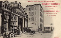 DELAUNAY BELLEVILLE Succursale De Nice - Publicité
