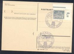 Germany Deutschland 1960 Card: Cavallo Horse Pferd Cheval: Equestrian; Deutsches Derby Hamburg