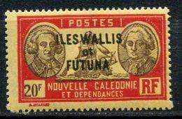 WALLIS -  Yv. N°  65  ** MNH   20f   Cote  6,85 Euro  TBE  2 Scans - Wallis E Futuna