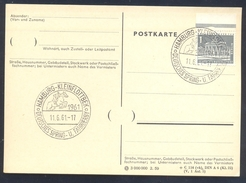 Germany Deutschland 1961 Card: Cavallo Horse Pferd Cheval: Equestrian; Deutsches Spring Und Fahr Derby Hamburg