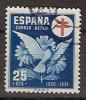 España U 1087 (o) Tuberculosos. 1950 - 1931-50 Gebraucht